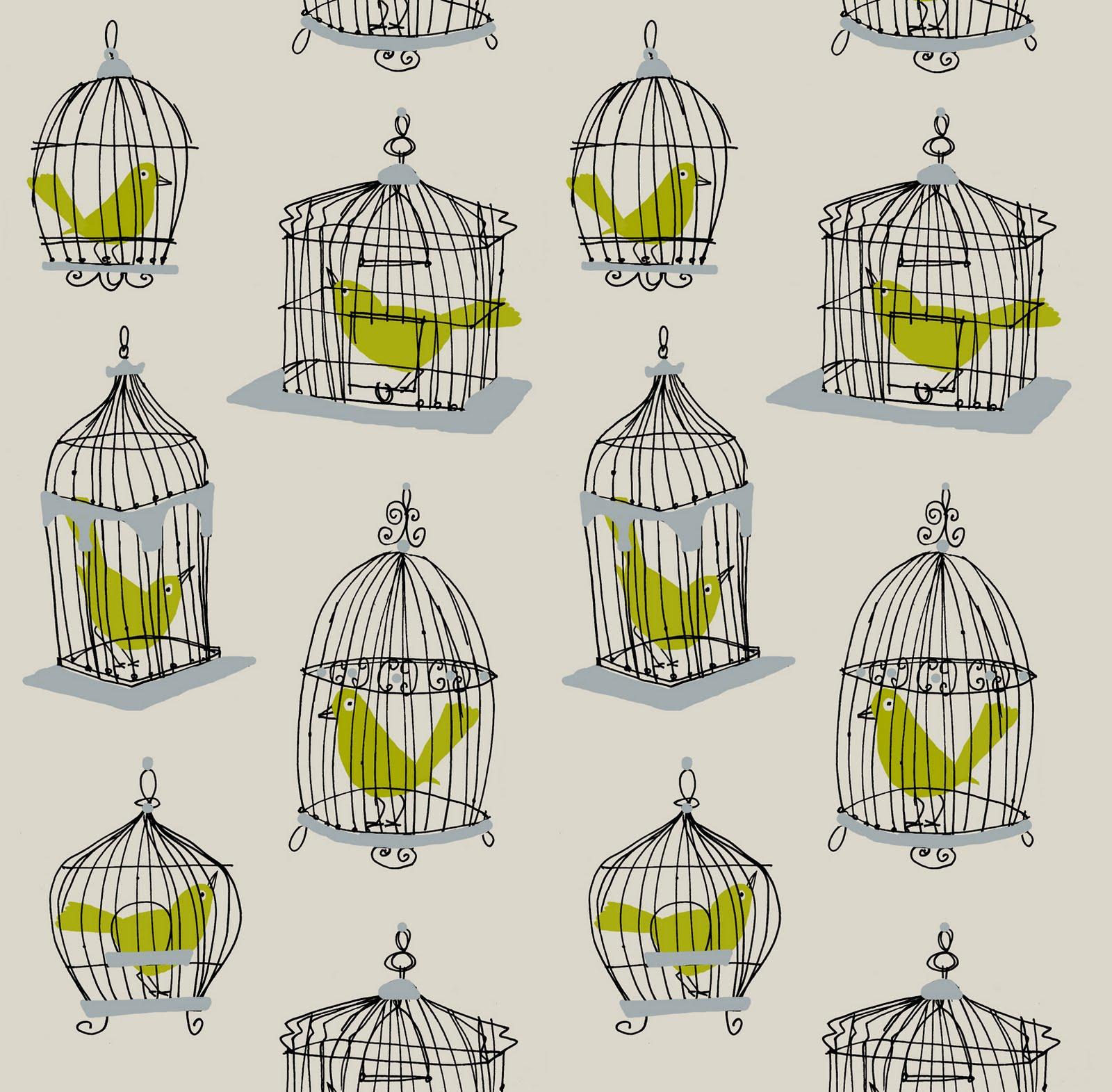 Alanna Cavanagh: New Work: Birdcage Pattern