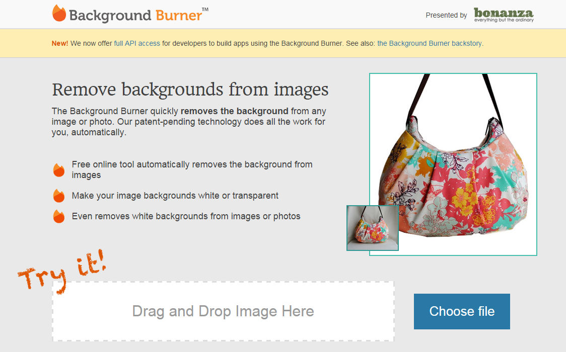 免費線上去背網站推薦:Background Burner,照片、圖片去背工具