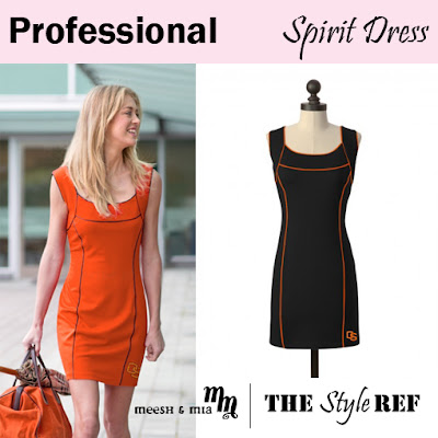 Professional: Meesh and Mia Spirit Dress in Oregon State Beavers
