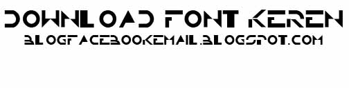Download font TRON