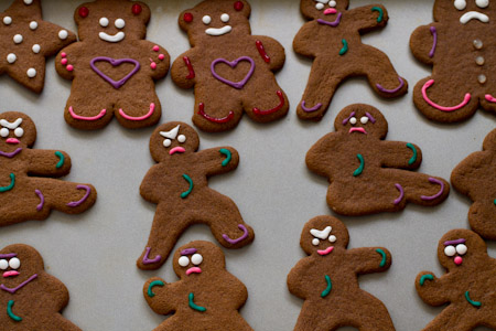 Boston Food Swap: #12DaysofCookies: Gluten Free Gingerbread Men