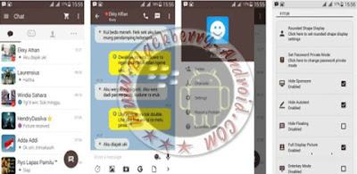 BBM Mod v2.9.0.51 Tema KakaoTalk v7 Backup Free Sticker Terbaru