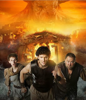 Mark Addy as Hercules, Jack Donnelly as Jason and Robert Emms as Pythagoras