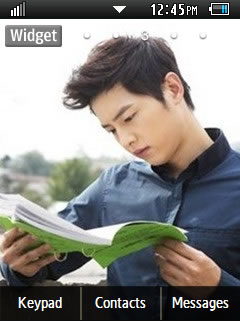 Other Latest Song Joong Ki Samsung Corby 2 Theme Wallpaper