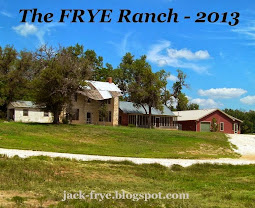 *** THE FRYE RANCH, WHEELER TX ***