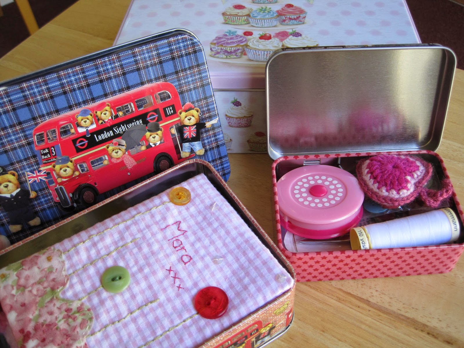 Sewing Kit Tins
