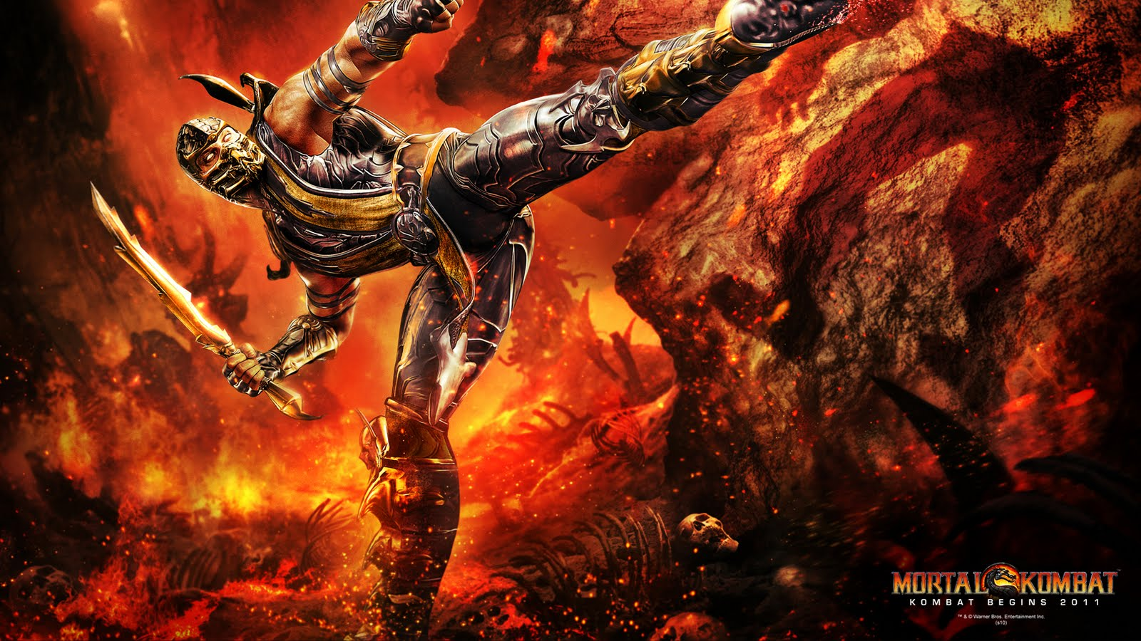 Mortal kombat HD & Widescreen Wallpaper 0.35591296036169