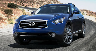 2012 Infiniti FX in blue color