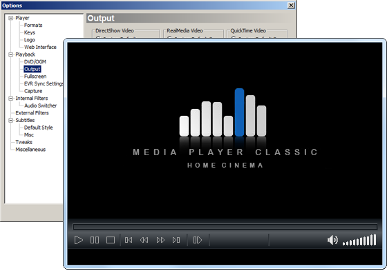 Media Player Classic Home Cinema 1.7.1 Portable
