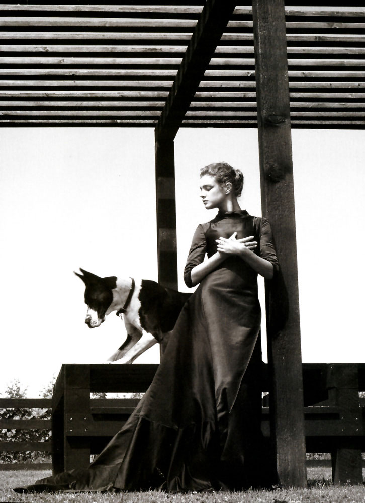 Natalia Vodianova in A Grand Affair   Vogue US September 2005 (photography: Steven Klein, styling: Grace Coddington)
