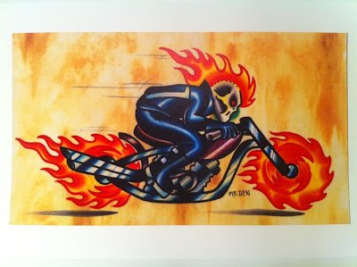 Ghost Rider Print by Mr. DenGhost Rider Print by Mr. Den