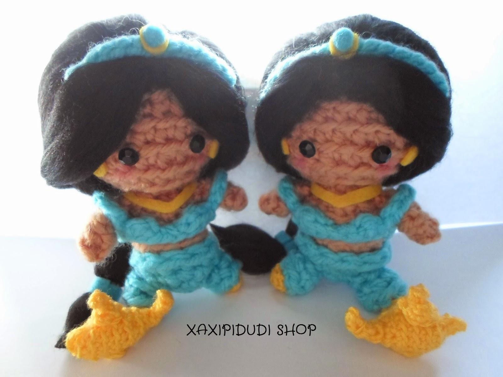 Amigurumi Princesas Disney : XAXIPIDUDI SHOP: Amigurumis y mucho mas.: AMIGURUMI ...