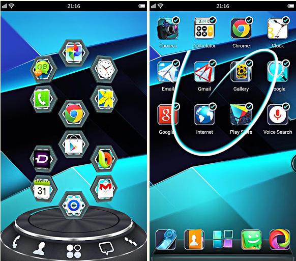 تطبيق جميل يجعل شاشة الاندرويد جميلة وبتقنية 3D وخصائص اخرى