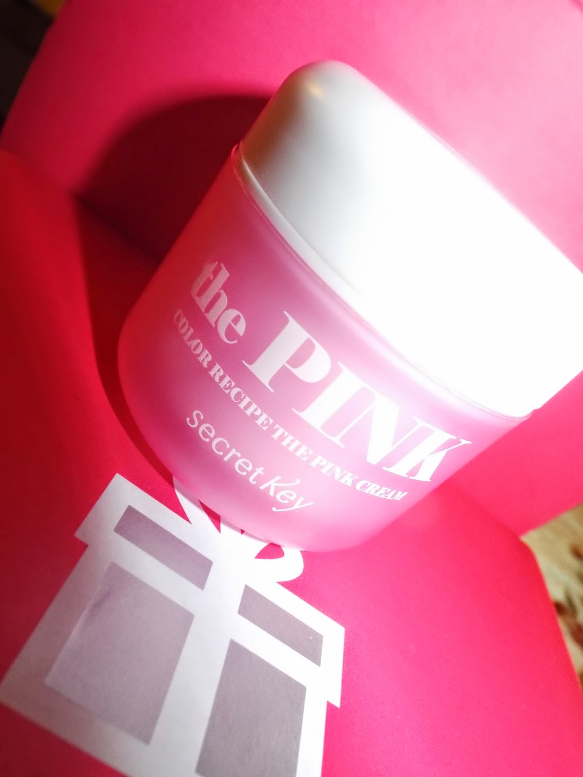 Secret Key:  Recipe The Pink Cream