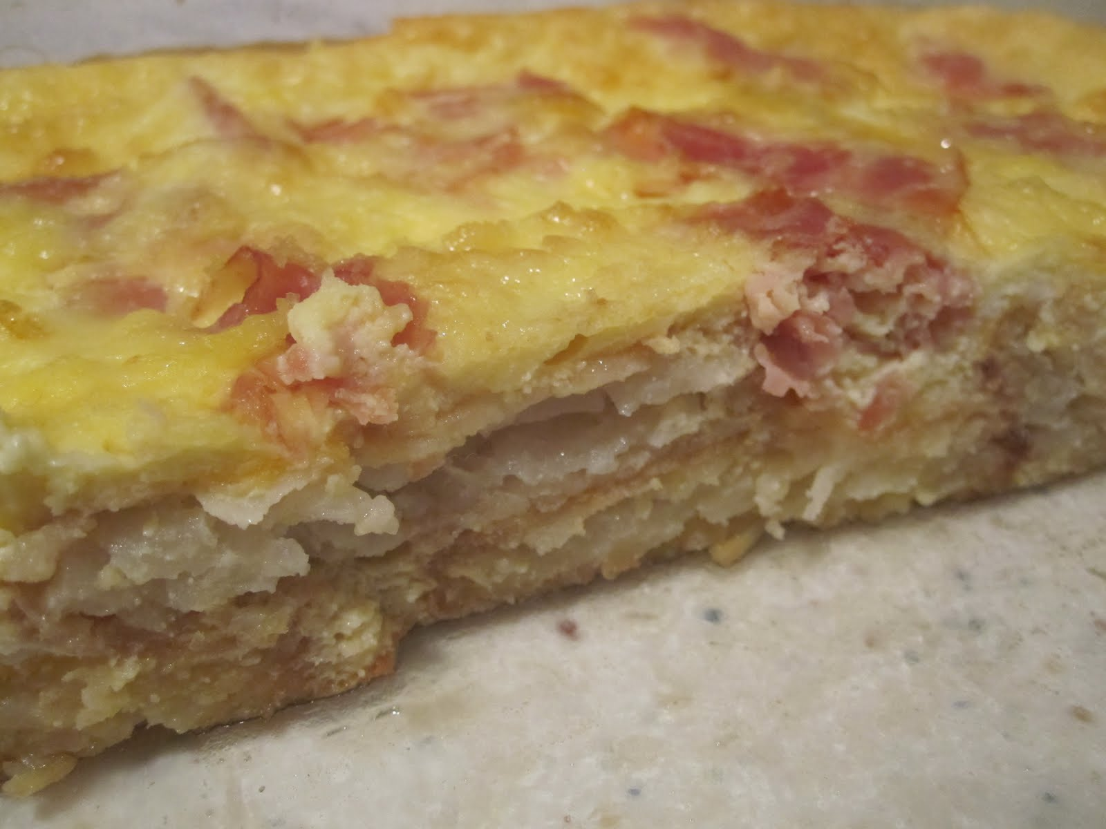 Neighbor Julia: Ham and Swiss Casserole