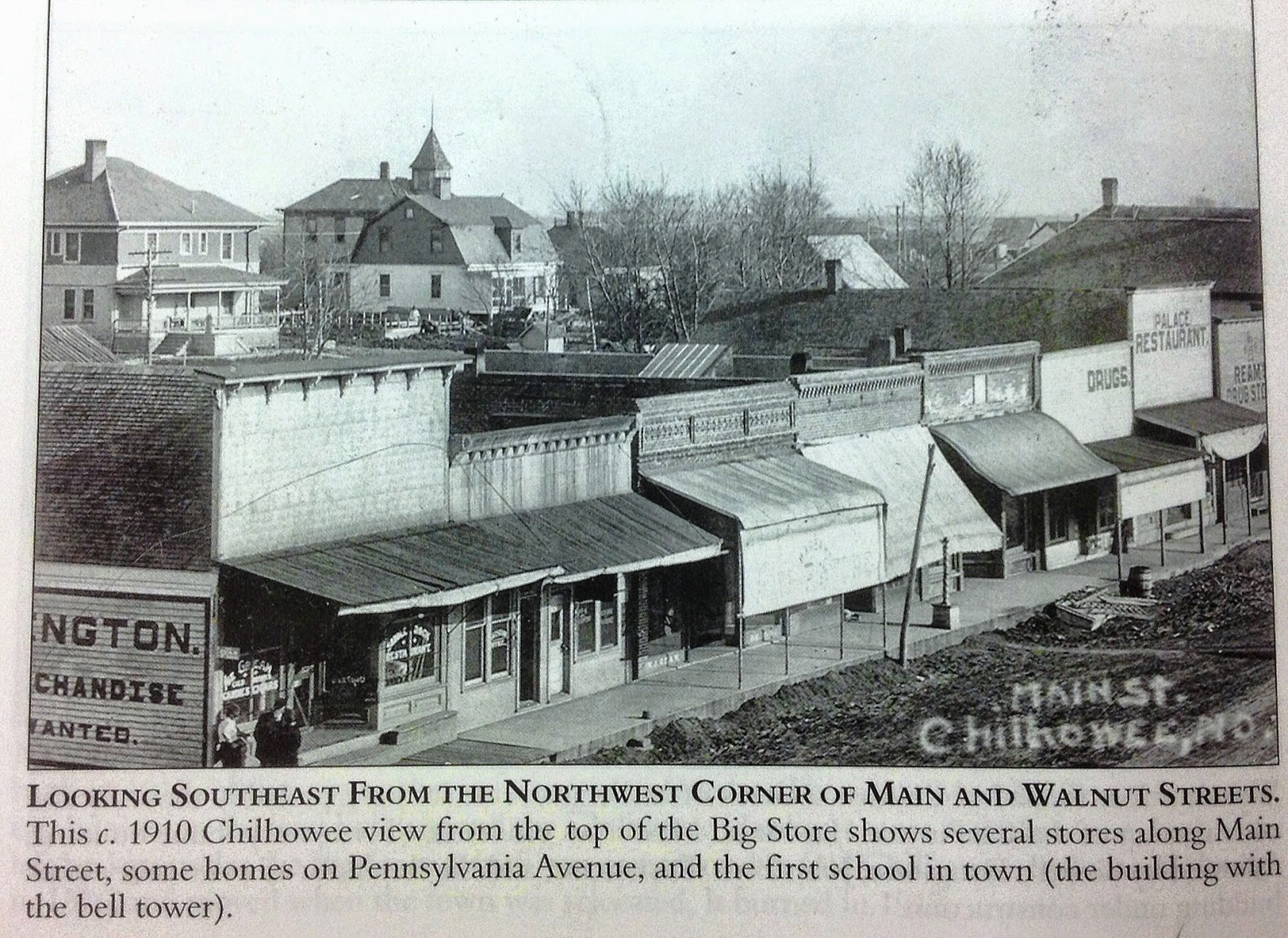 Chilhowee Missouri History Pictures Johnson County