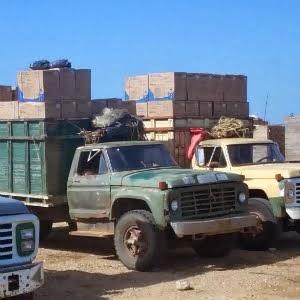 Camiones de contrabando
