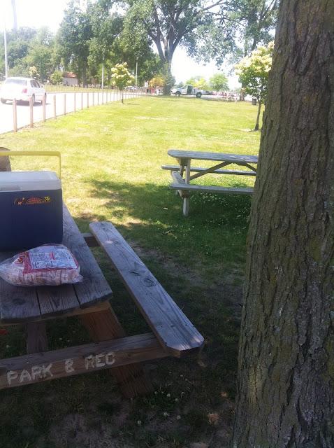 Park & Rec Picnic Table