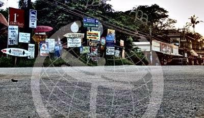 Cruce de señales en Tamarindo, Costa Ric