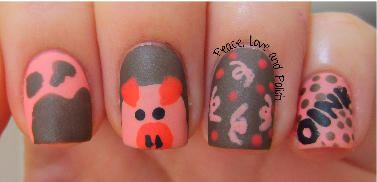 Nail Designs Of Animals | 2015 Best Auto Reviews