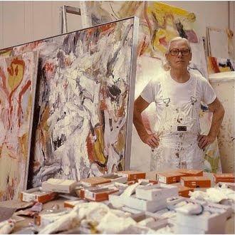 Artist in Studio...