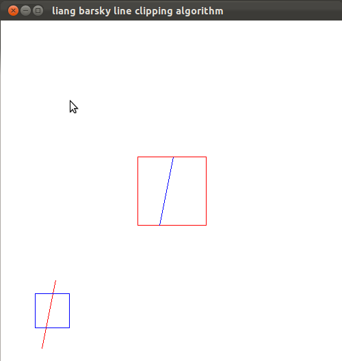 Line Drawing Algorithm In Opengl : Graphics and game programming in opengl liang barsky