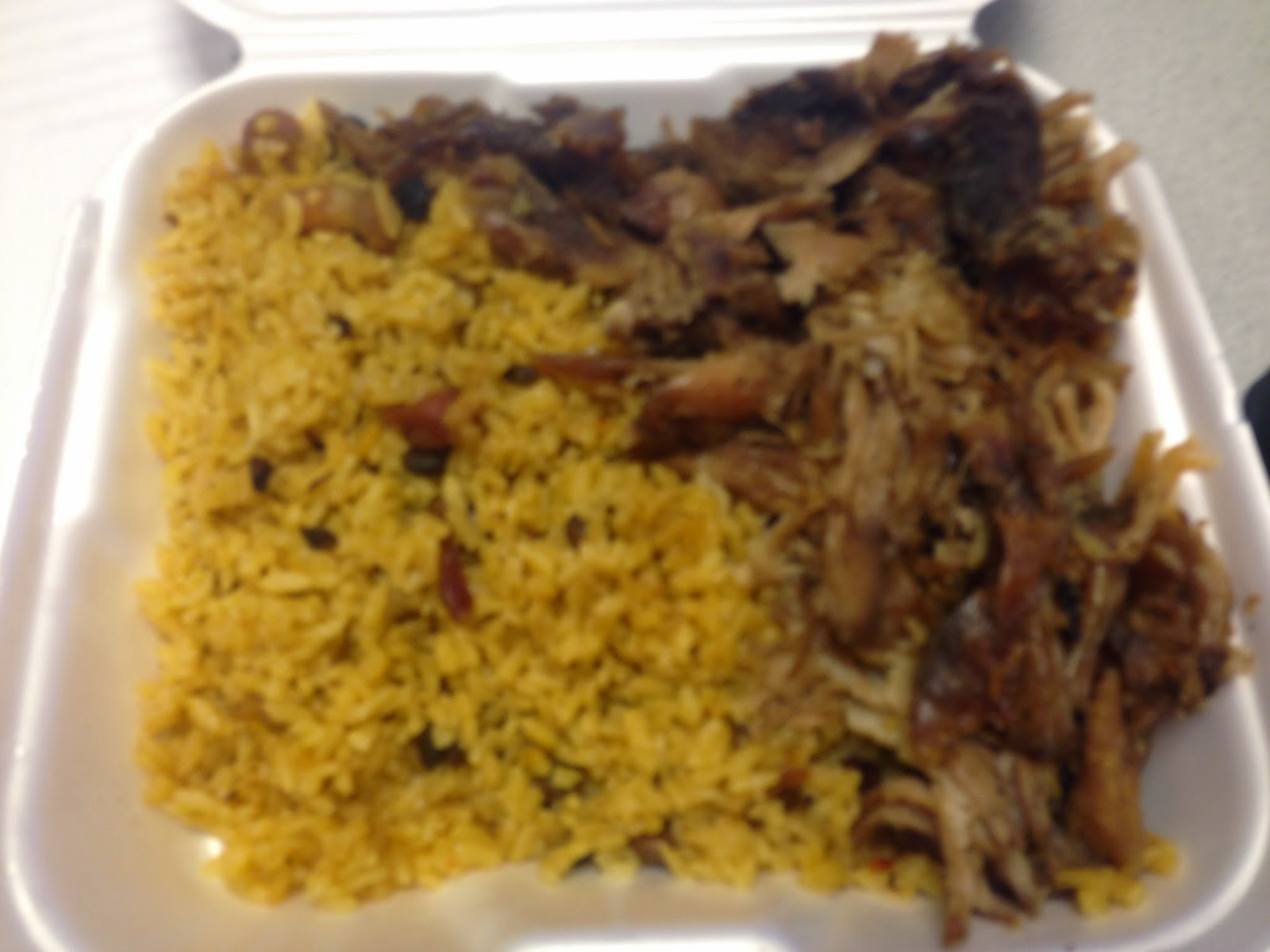 Senor Juan Food Truck Arroz con Gandules