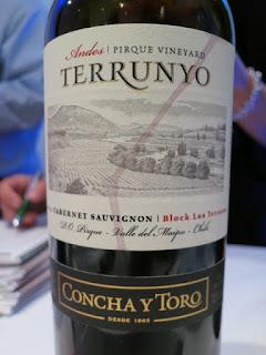 Concha Y Toro Terrunyo Andes Pirque Vineyard Cabernet Sauvignon 2012 - Las Terrazas Block, Pirque Vineyard, Maipo Valley, Chile (90 pts)
