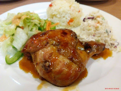 Kenny Rogers honey Glazed Chicken