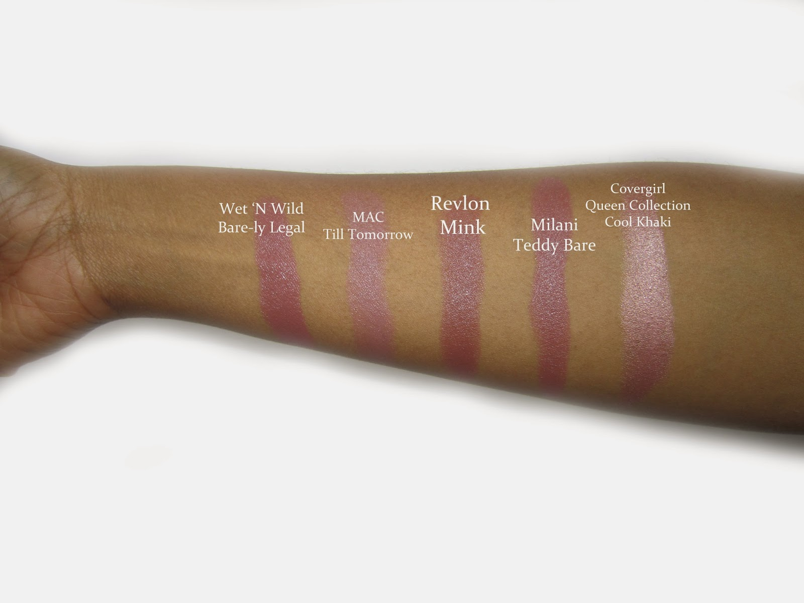 nude lipstick colors for dark skin black african american women of color