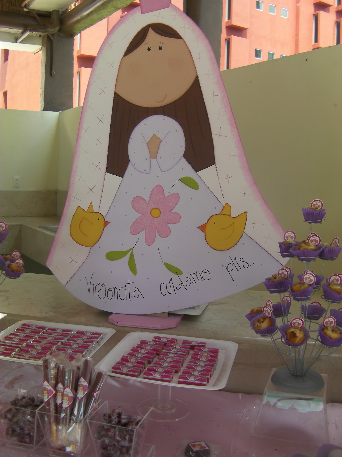 Party Boutique: MESA DE DULCES, PRIMERA COMUNION, DECORACION VIRGEN