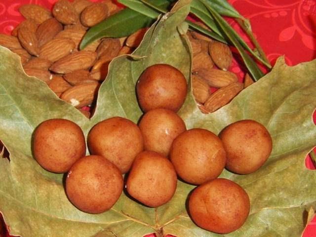 Patatas de Mazapán