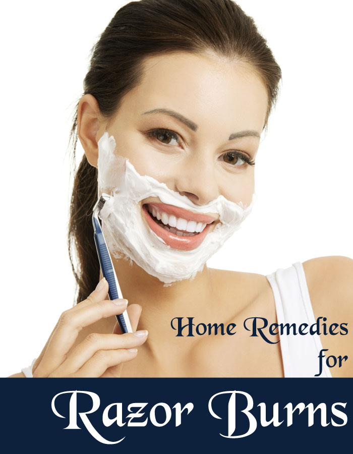 Home Remedies for Razor Burns