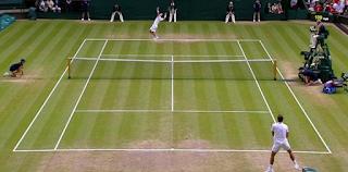 Vamos jogar tênis na grama?
