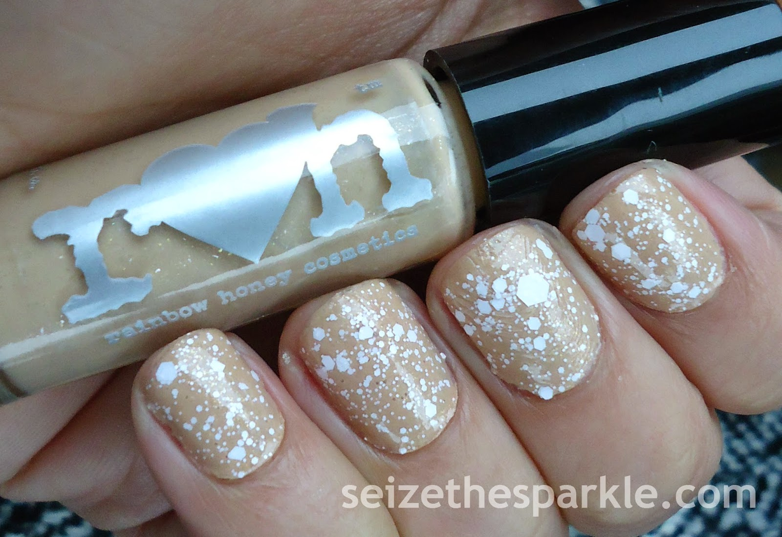 Sally Hansen Eyelet & Rainbow Honey Cafe Con Leche