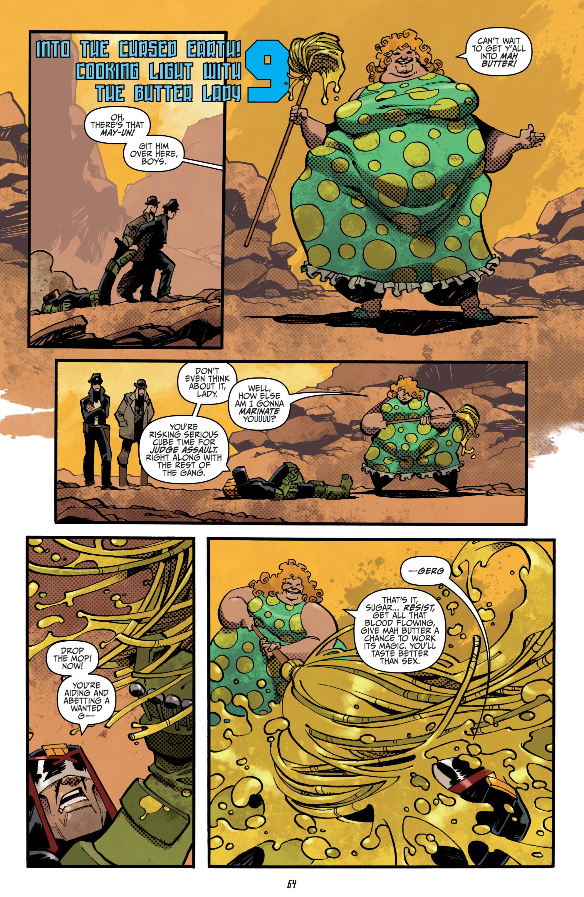 Read online Judge Dredd (2012) comic -  Issue # _TPB 3 - 64