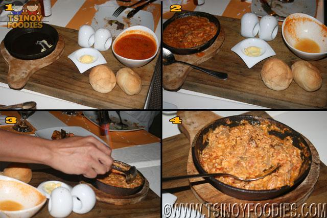 fresh garden omelette