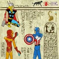 Jeroglíficos con héroes del comic, el cine y la televisión