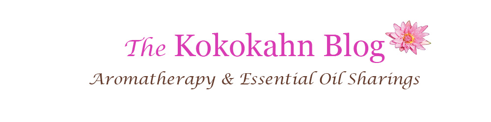 The Kokokahn Aromatherapy Blog