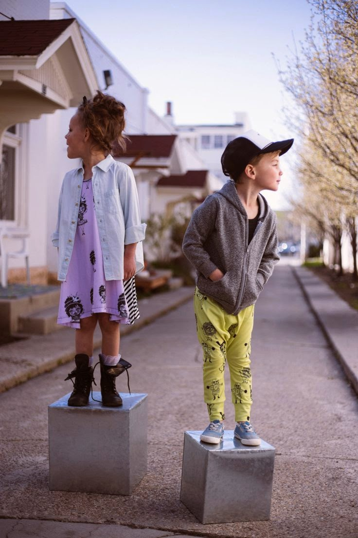"Kids fashion brand Salt City Emporium spring collection 2014 ""Salt Carnival"""