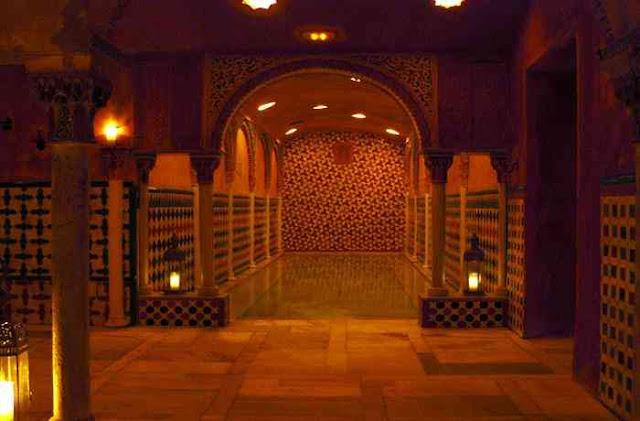 Baño Arabe Hammam Granada:LOS VIAJES DE BRUJILDA: Granada: Hammam Baños Árabes Al Ándalus
