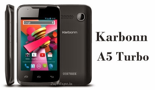 Karbonn A5 Turbo: 3.5-inch Cheapest Android KitKat Smartphone Specs, Price