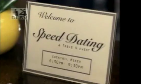 speed dating advertising How to start a dating service organize a speed dating event at a local restaurant advertising, and word of mouth.