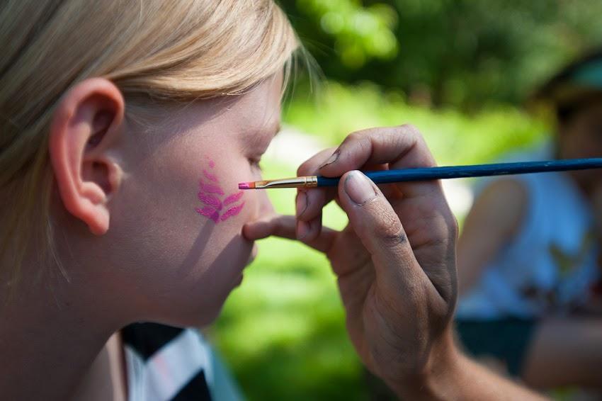 Face Painting Yasodhara Ashram May 2013