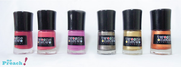 Review: esmaltes Two One One Two