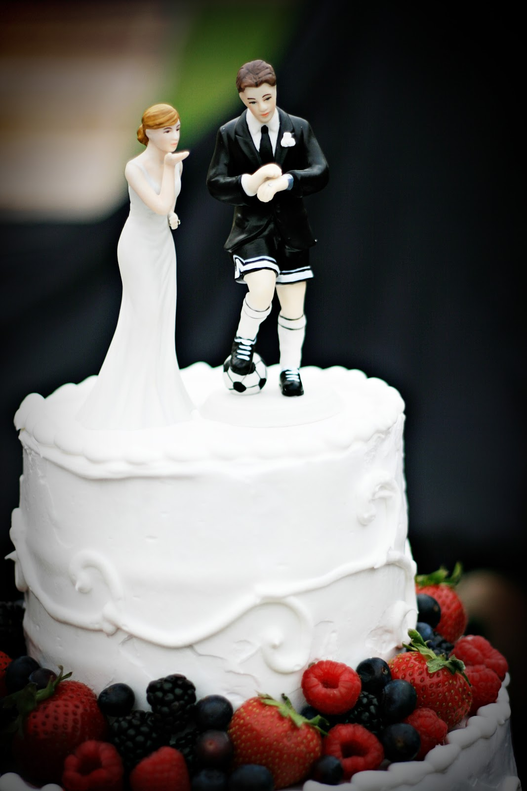 Cakes By Kim: A Soccer Players Wedding