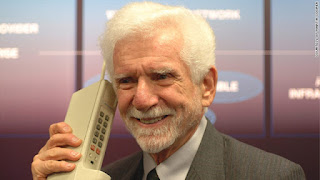 "Martin Cooper: ""Everybody would talk on a wireless phone """