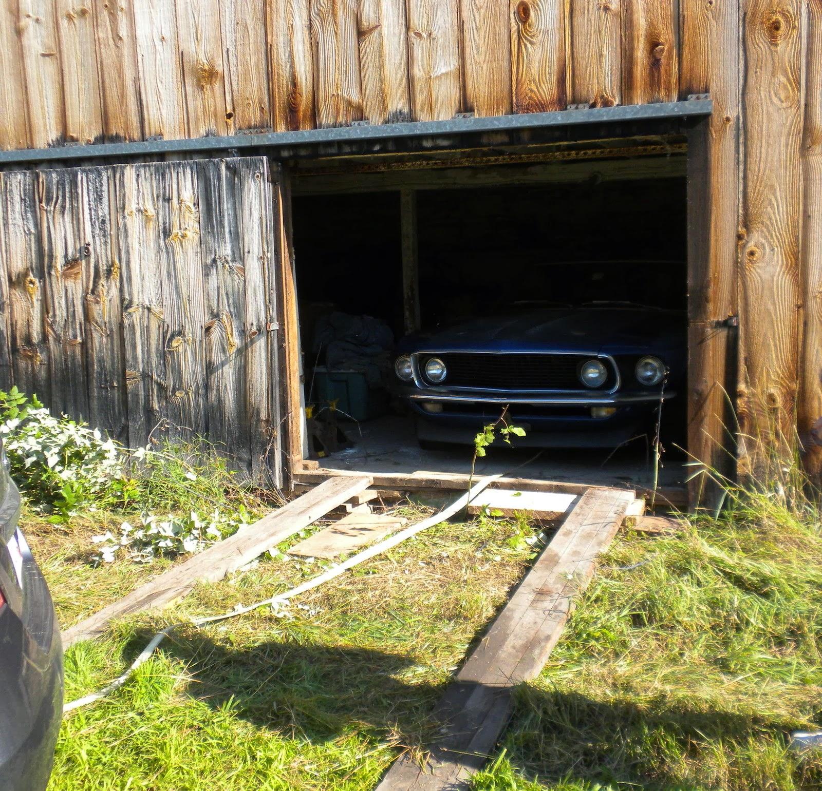 Virginia Classic Mustang Blog: 1969 Mustang Boss 302 Barn Find