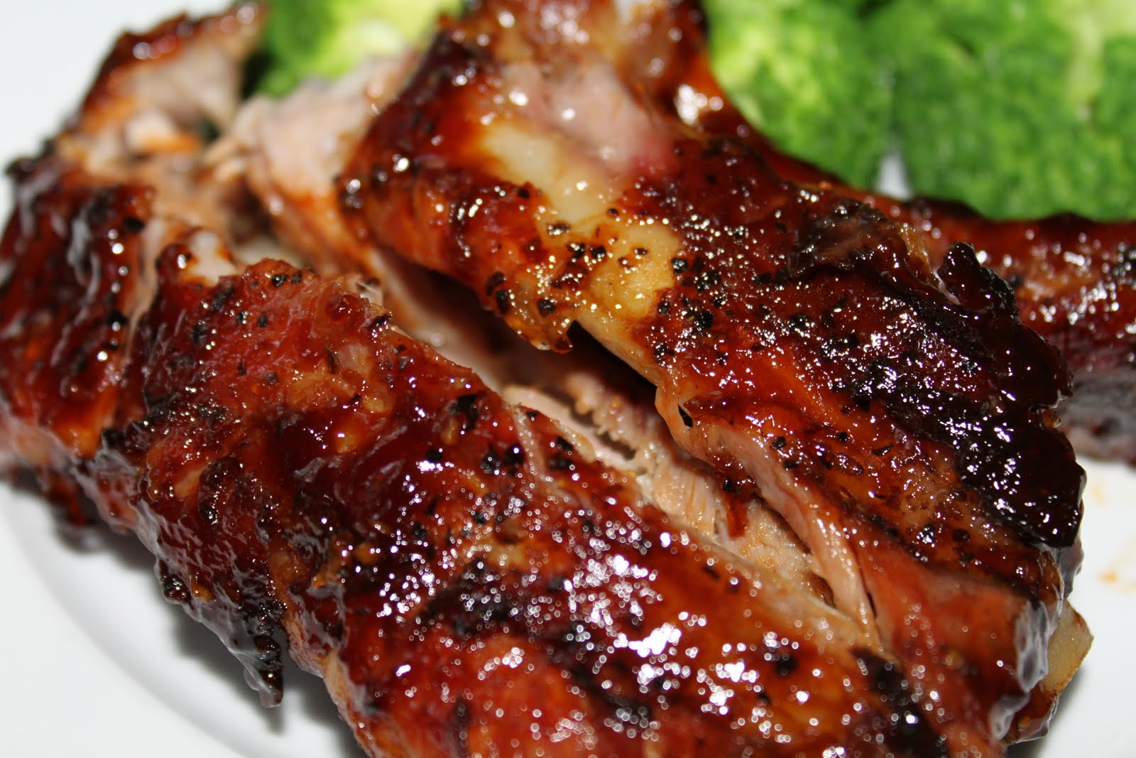 Mae's Kitchen: Baby Back Ribs with Homemade BBQ Sauce
