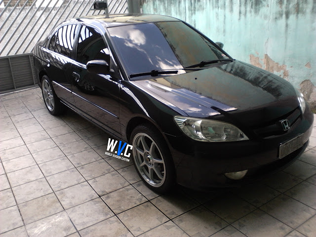 Civic com rodas aro 18""